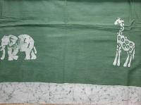 Tischdecke, grün. Tansania