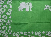 Tischdecke, hellgrün. Tansania