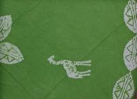 Runde Tischdecke, hellgrün, Tansania