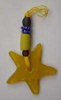 Glasstern, gelb