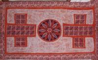 Tischdecke, rot