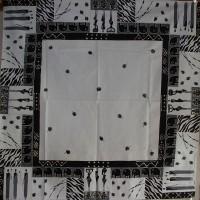 Tischdecke, quadratisch
