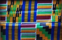 Afrikanischer Stoff F18