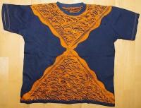 T-Shirt, gebatikt